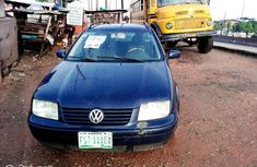 Nigeria Used Volkswagen Jetta 2002 Model Blue