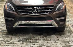 Tokunbo Mercedes-Benz ML350 2014 Model Brown