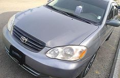 Very Clean Nigerian used Toyota Corolla 2004
