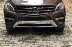 Tokunbo Mercedes-Benz ML350 2014 Model Brown