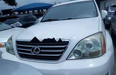 Foreign Used Lexus GX 2008 Model White