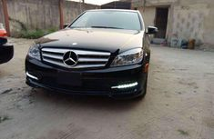 Foreign Used Mercedes-Benz C300 2011 Model Black