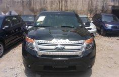 Tokunbo Ford Explorer 2012 Model Black