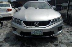 Nigeria Used Honda Accord 2013 Model Silver