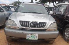 Nigeria Used Lexus RX 2001 Model Silver