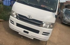 Neat Nigerian Used Toyota HiAce 2008 White