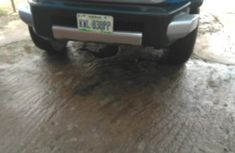 Nigeria Toyota FJ Cruiser 2007 Model Blue