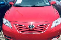 Neat Foreign used New Toyota Camry 2015 Red