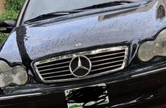 Nigeria Used Mercedes-Benz C240 2005 Model Black