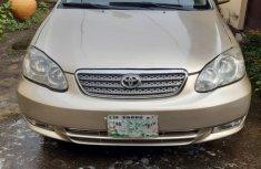 Toyota Corolla for Sale in Lagos Nigeria Used 2004 Brown