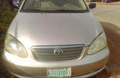Nigeria Used Toyota Corolla Sport 2003 Model Brown