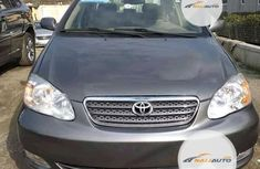 Foreign Used Toyota Corolla 2001 Model Gray