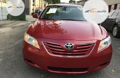 Foreign used Toyota Camry 2007 Red