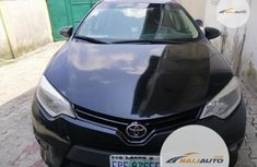 Nigeria Used Toyota Corolla 2014 Model Black
