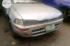 Nigeria Used Toyota Corolla 1997 Model Silver