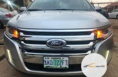 Nigeria Used Ford Edge 2012 Model Silver