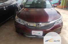 Foreign Used Honda Accord 2016 Model Red