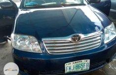 Nigeria Used Toyota Corolla 2006 Model Blue