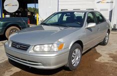 Foreign Used Toyota Camry 2001 Model Silver