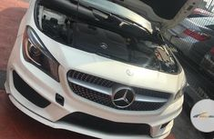 Foreign Used Mercedes-Benz CLA-Class 2014 White