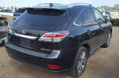 Foreign Used Lexus RX 350 2010 Model Black