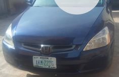 Nigeria Used Honda Accord 2004 Model Blue