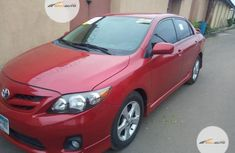Neat Foreign Used Toyota Corolla 2011 Red