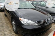Neat Foreign used Toyota Camry 2005 Black