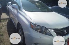 Foreign Used Lexus RX 350 2010 Model White