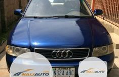 Nigeria Used Audi A4 2000 Model Blue