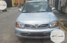 Foreign Used Nissan Micra 2003 Model Silver