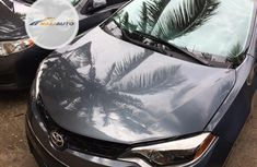 Foreign Used Toyota Corolla 2014 Model Gray