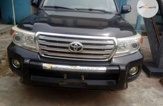 Tokunbo Toyota Land Cruiser 2012 Model Black