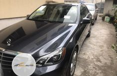 Foreign used Mercedes-Benz E350 2014 Gray