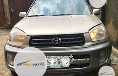Nigeria Used Toyota RAV4 2003 Model Gold