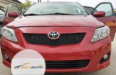 Foreign Used Toyota Camry 2002 Model Red