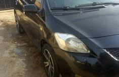 Nigeria Used Toyota Yaris 2009 Model Black
