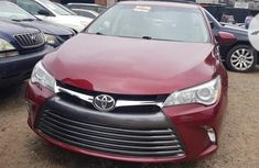 Foreign Used Toyota Camry 2015 Model Red