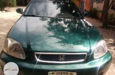 Nigeria Used Honda Civic 1998 Model Green