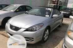 Foreign Used Toyota Solara 2007 Model Silver