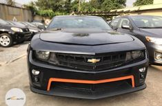 Neat Foreign used Chevrolet Camaro 2012 Black