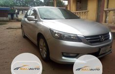 Nigeria Used Honda Accord 2013 Model Silver