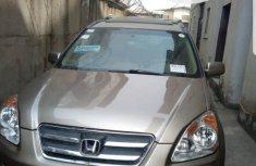 Foreign Used Honda CR-V 2006 Model Gold