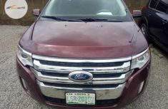 Neat Nigerian Ford Edge 2014 Brown