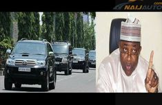 Ex-Governor of Bauchi allegedly sold government ₦150m Armored SUVs for just ₦7.8m to himself