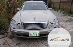 Nigeria Used Mercedes-Benz E320 2004 Model Brown