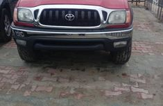 Foreign Used Toyota Tacoma 2004 Model Red