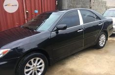 Nigeria Used Toyota Camry 2004 Model Black