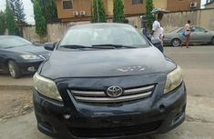 Nigeria Used Toyota Corolla Sport 2012 Model Black
