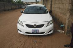 Nigeria Used Toyota Corolla Sport 2009 Model White